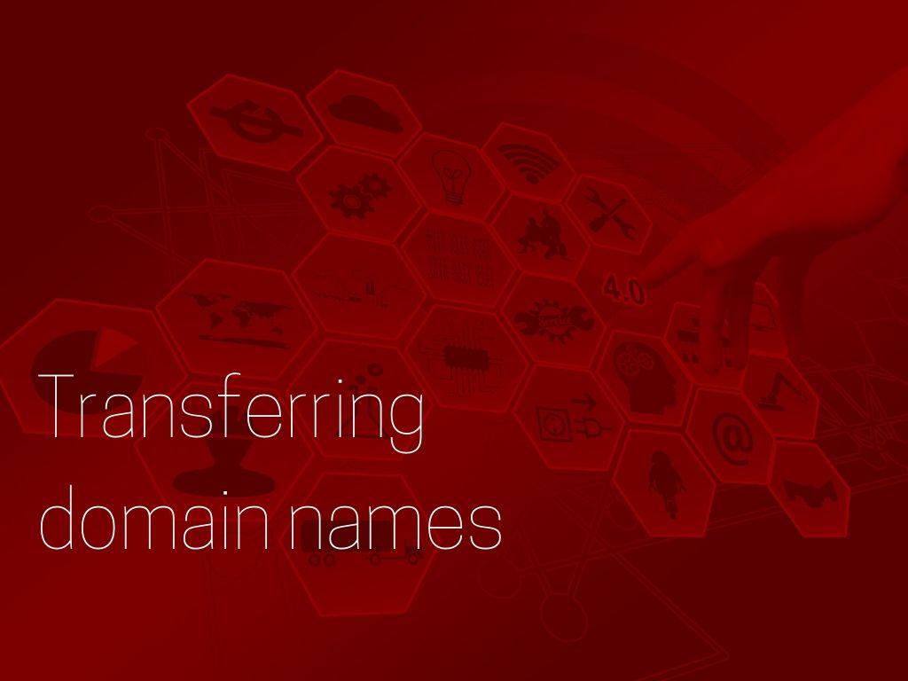 transferring domain names