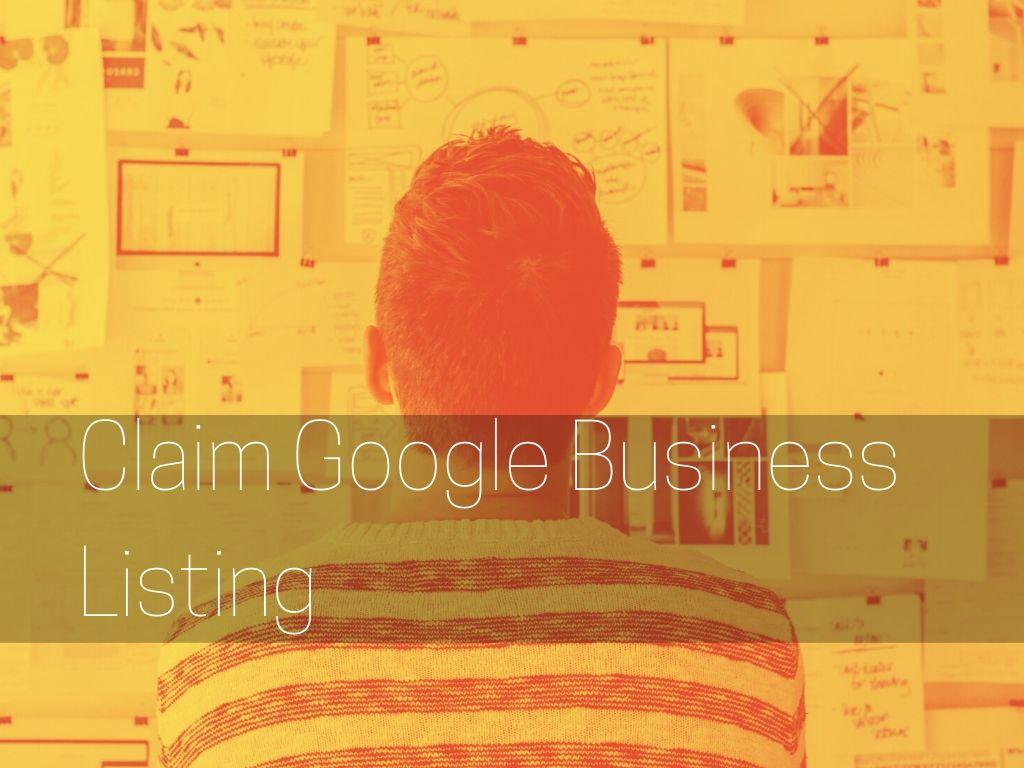 claim google business listing