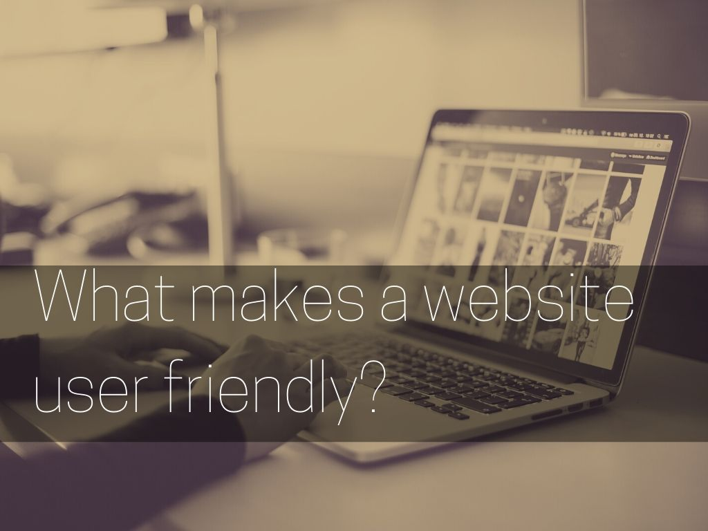 what makes a website user friendly