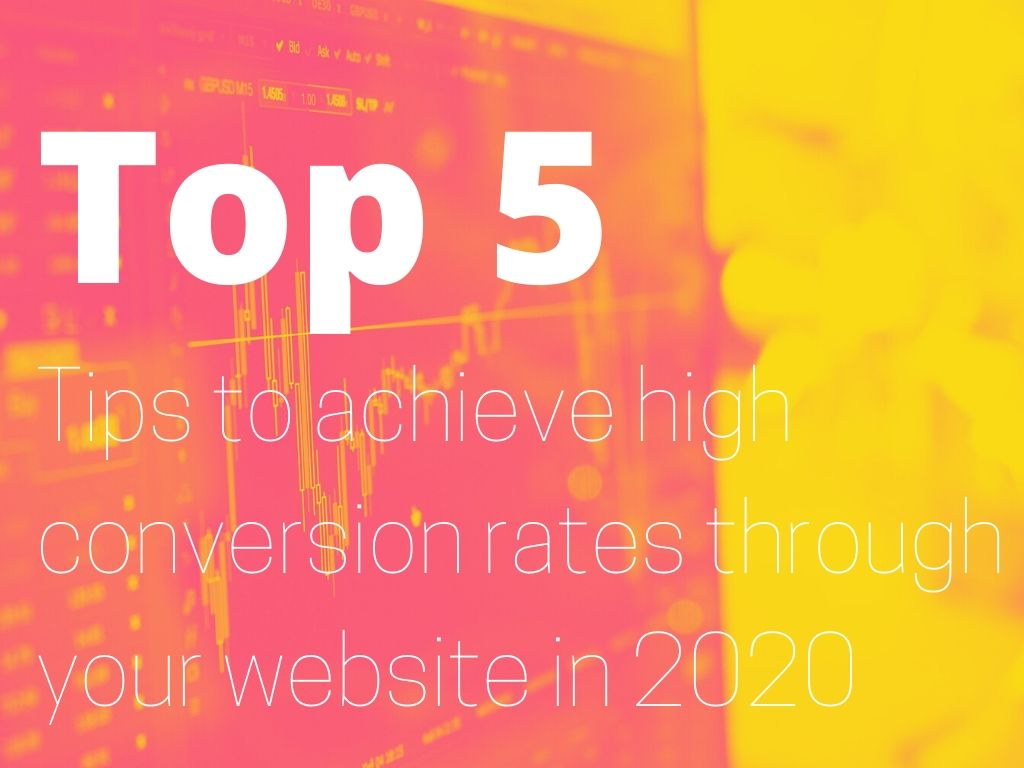 tips to achieve high conversion rates