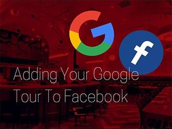 adding your google tour to facebook