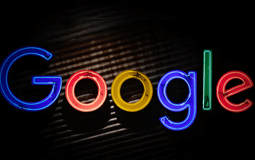 led google logo
