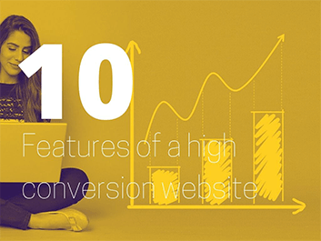 10 features of a high conversion website