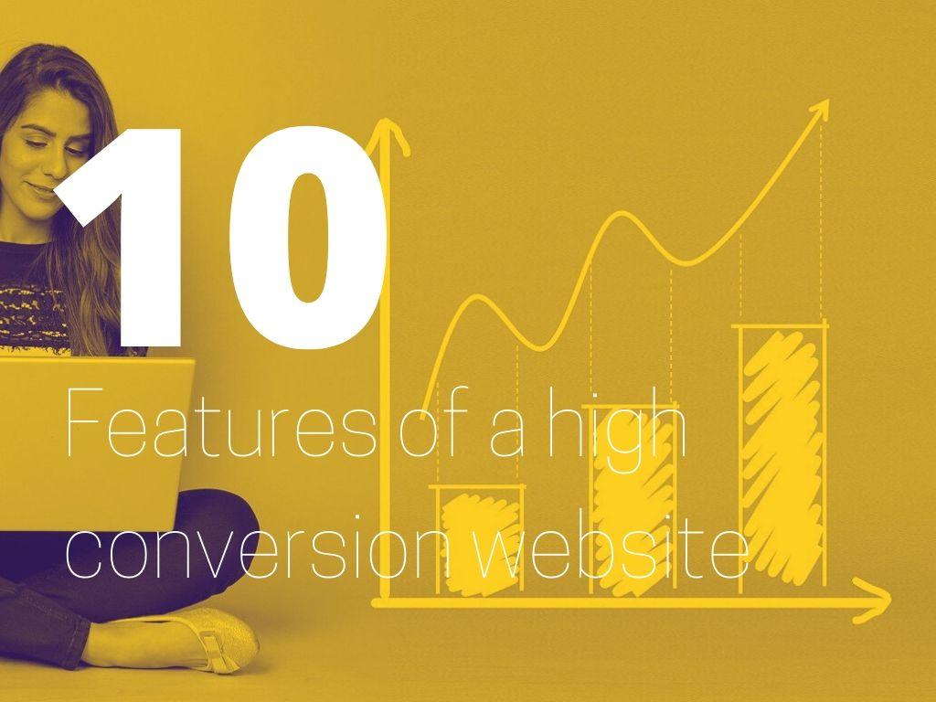 high conversion website