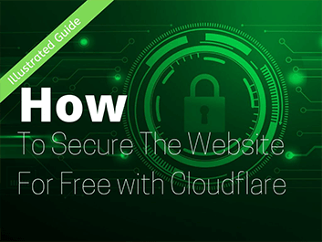how to secure the website for free with cloudflare