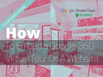 how to embed a google 360 virtual tour on a website