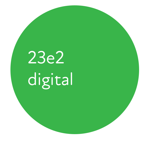 23e2 Digital Marketing Logo