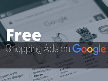 free shopping ads on google