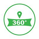 google 360 virtual tour icon