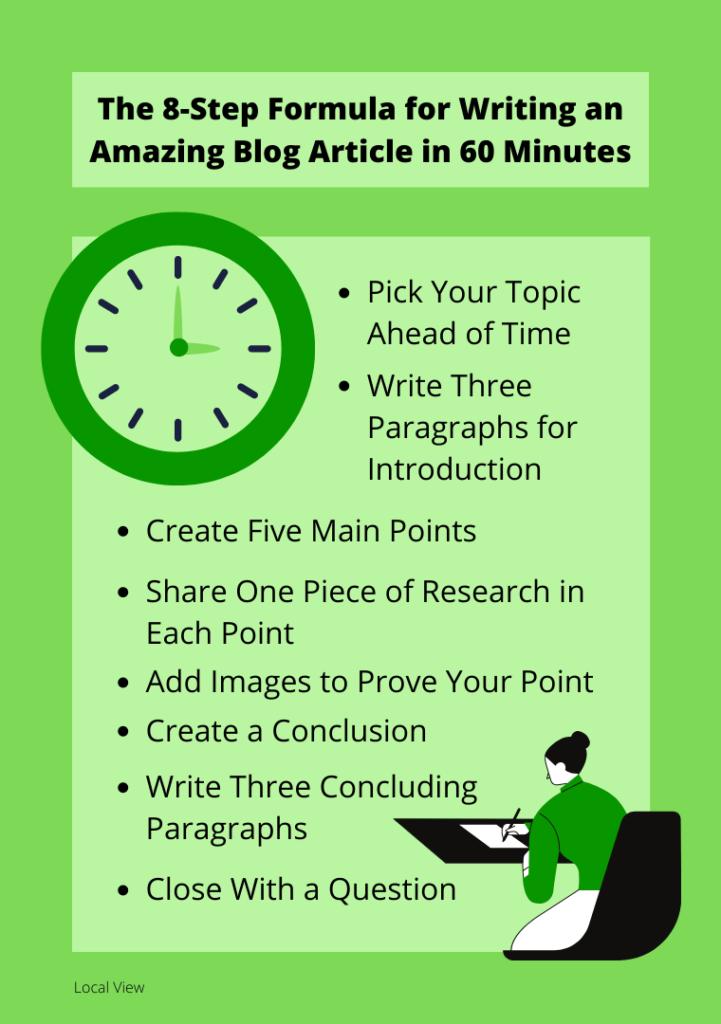 formula for writing amazing blogs