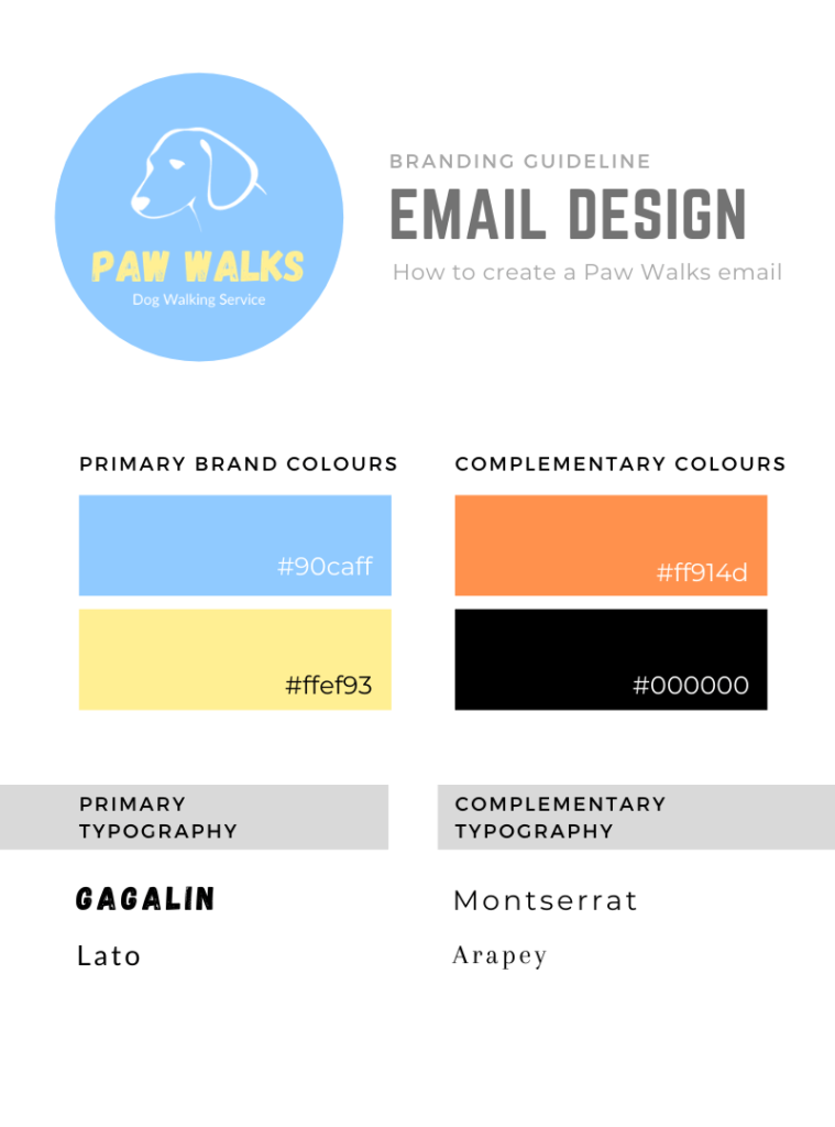 email design guidelines