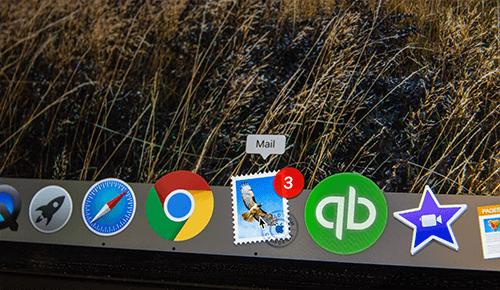 mac book navigation bar