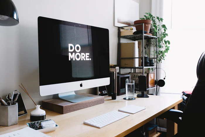 imac with the phrase do more