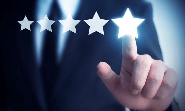 google star ratings
