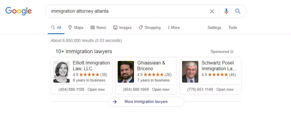 google screened profile