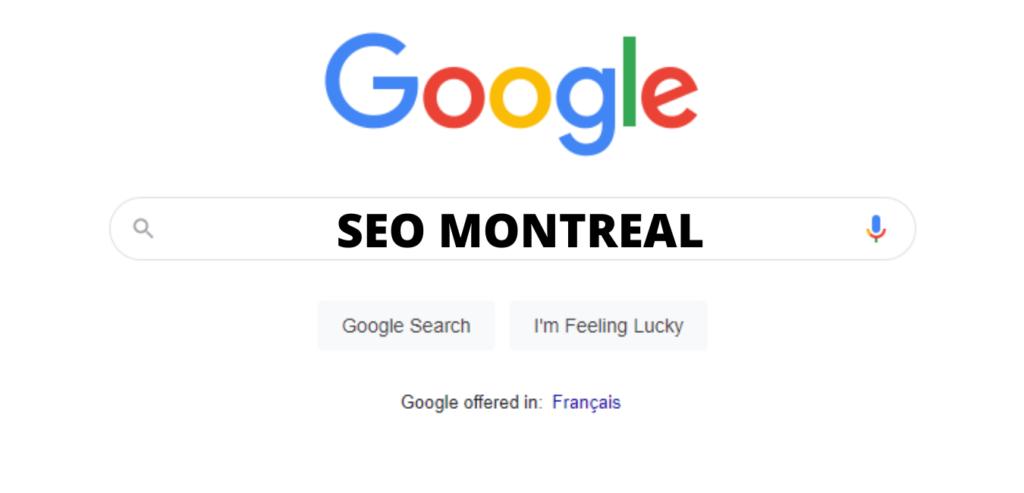 seo montreal on Google