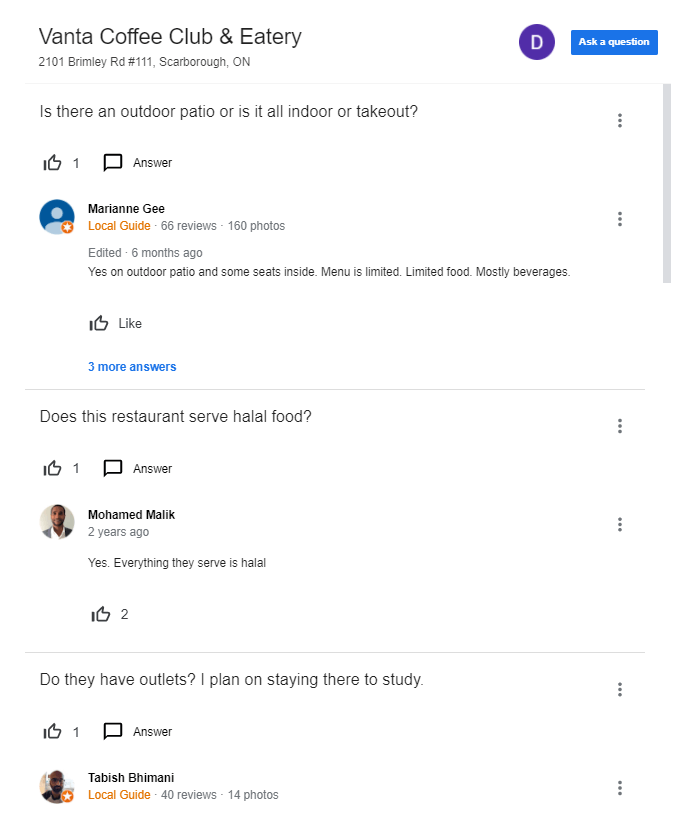 google review for local seo